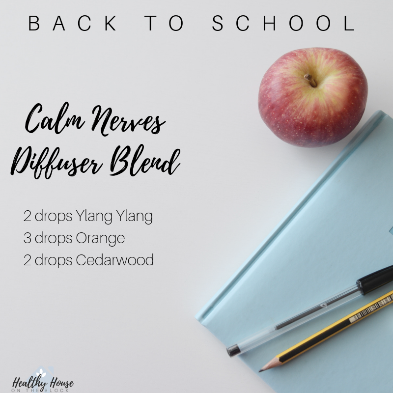 calming diffuser blend with ylang ylang organce and cedarwood