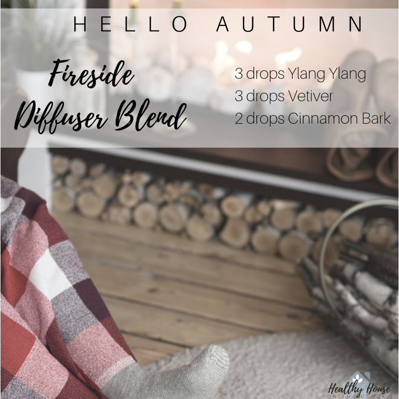 fall diffuser blend with cloves, orange and cedarwood