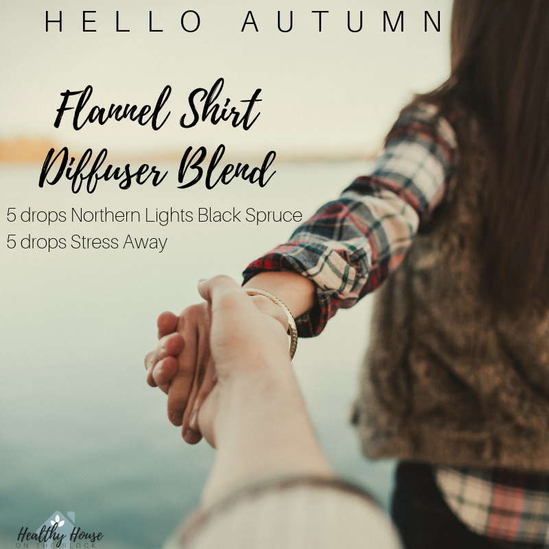fall diffuser blend with northern lights black spruce and stress away