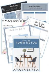 room by room detox print out